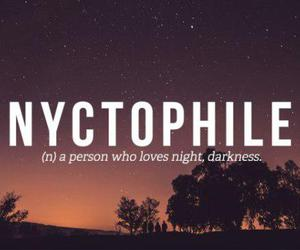 night, Darkness, and nyctophile image