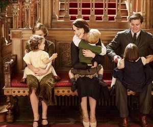 20s, children, and downton abbey image