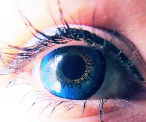 blue, contacts, and eyes image