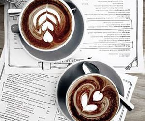 coffee, chocolate, and latte image