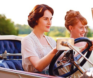 downton abbey, michelle dockery, and 20s image