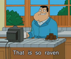 american dad, stan, and that's so raven image