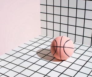 pink, pastel, and ball image