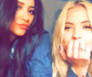 ashley, shay, and pretty little liars image