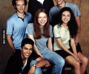 that 70s show, Mila Kunis, and ashton kutcher image