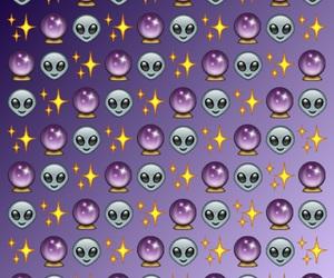 emoji, wallpaper, and alien image