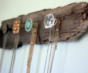 diy, jewelry, and wood image