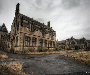 abandoned, architect, and architecture image