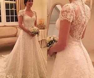beautiful, dress, and love image