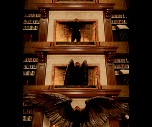 angel, Constantine, and Tilda Swinton image