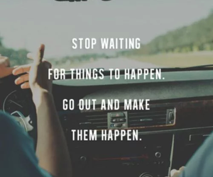 quotes, life, and car image