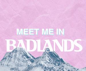 badlands, halsey, and pastel image