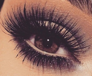 beauty, eyes, and brown eyes image