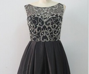cocktail dress, little black dress, and homecoming dress image