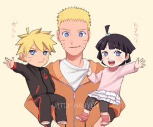 naruto, himawari, and boruto image