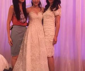 beautiful, wedding gown, and kate tsui image