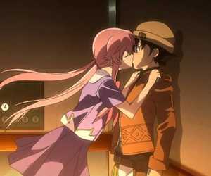 mirai nikki and anime image