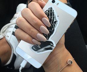 nails, iphone, and adidas image