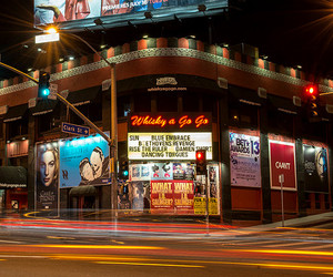 los angeles, sunset strip, and 80s+glam+rock image