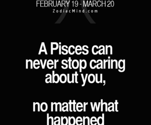 horoscope, pisces, and words image