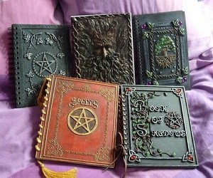 book, magic, and spells image