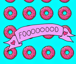 food, wallpaper, and donuts image
