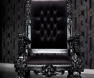 black and throne image