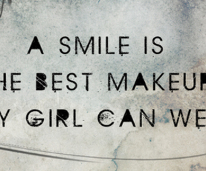 quote, girl, and smile image