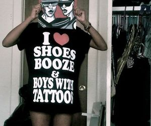 booze, boys, and shoes image