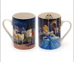 cinderella, mug, and mugs image