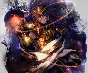 anime and Saint Seiya image