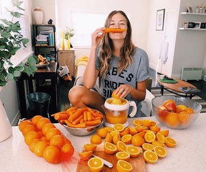 orange, carrot, and healthy image