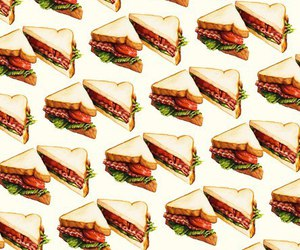 bacon, eat, and toast image