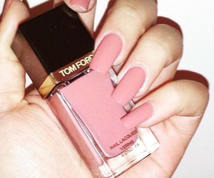 nails, pink, and tom ford image