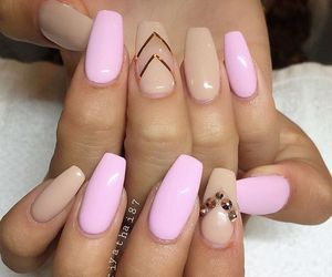 beautiful, nails, and super image