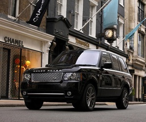 car, range rover, and luxury image