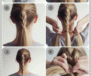 Girls Fashion, hair tutorial, and braid image