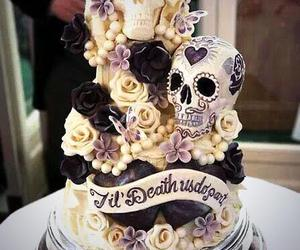 cake, death, and mexican image