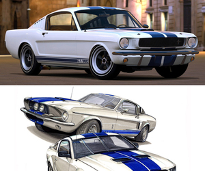 ford, muscle car, and mustang image