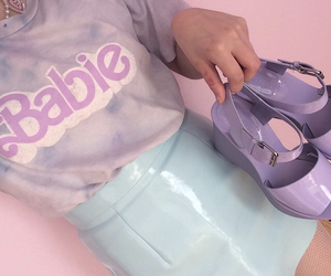 barbie, pastel, and aesthetic image