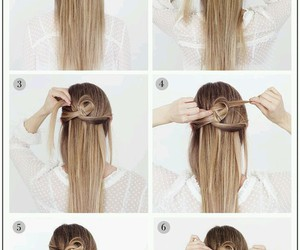 beauty, Girls Fashion, and hair tutorial image