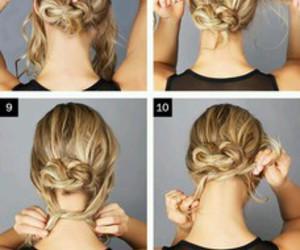 bun, Girls Fashion, and hair style image