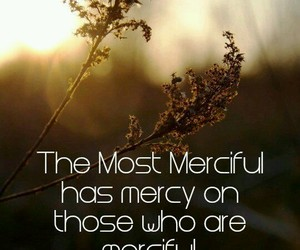allah, islam, and mercy image