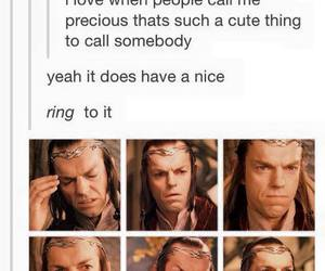 funny, LOTR, and ring image