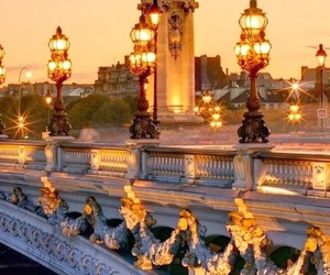 paris, lights, and city image