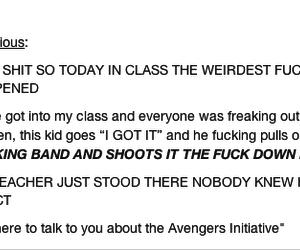Avengers, awesome, and awkward image