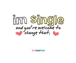 love and single image
