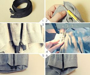 diy, fashion, and sweater image