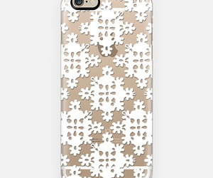 case, lace, and white image