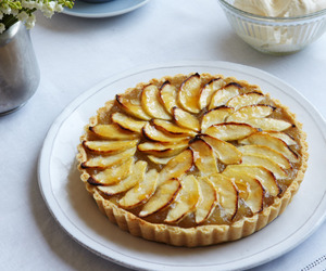 apple, food, and tart image